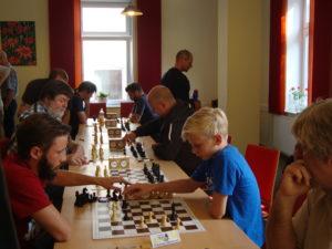 Das erste Turnier